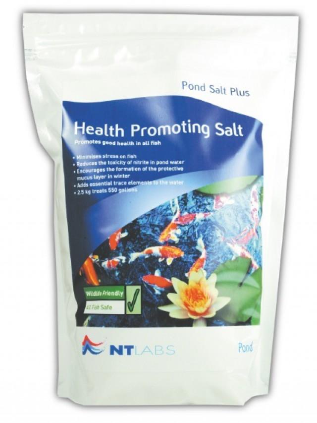 Pond salt plus for Salt in koi pond