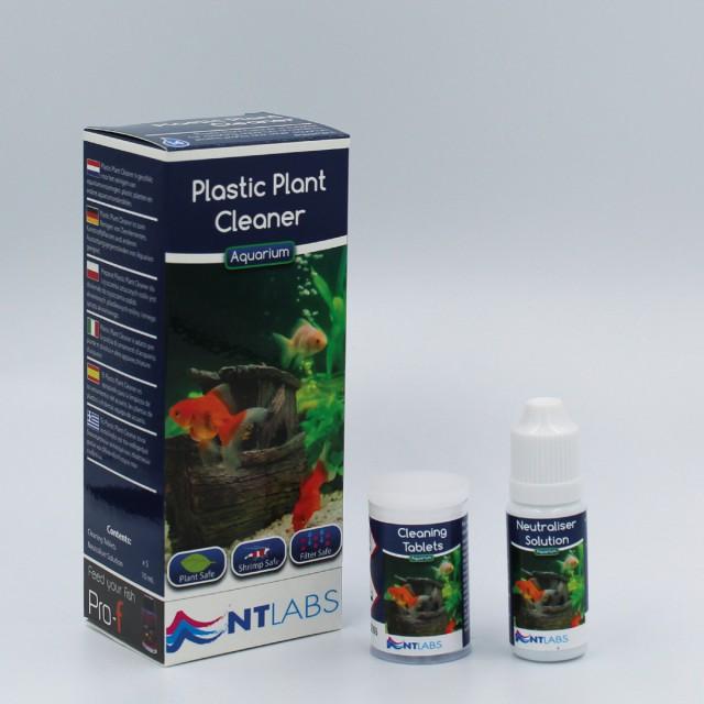 Plastic plant cleaner