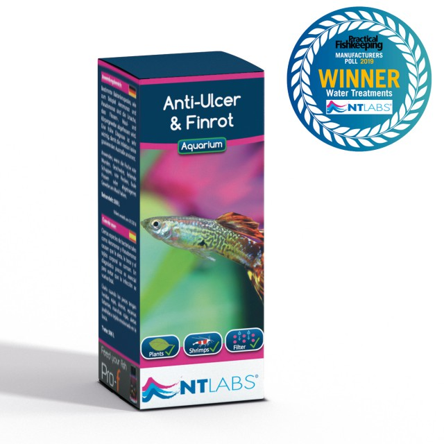 Anti ulcer and finrot award