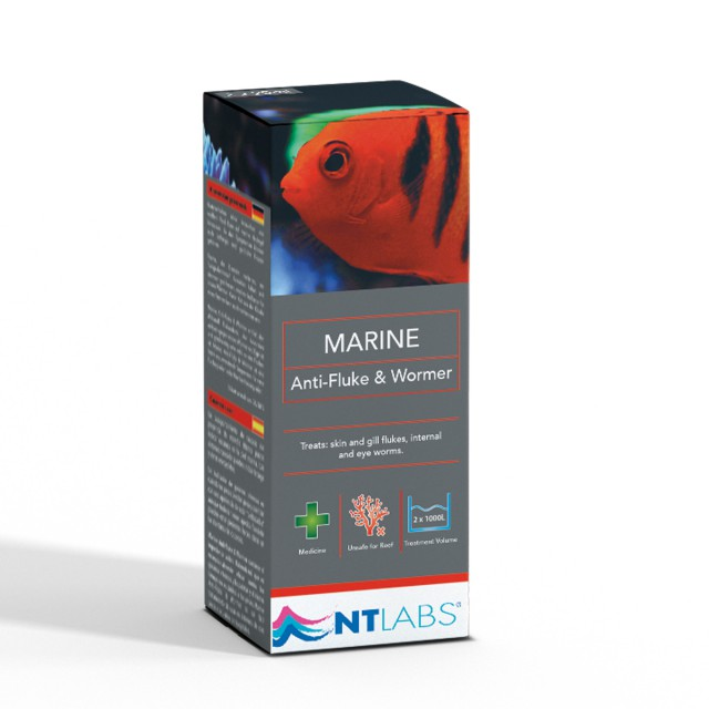 Anti-fluke and wormer marine