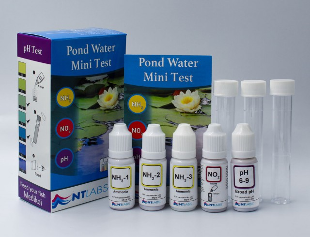 Pond Mini Test Kit Contents